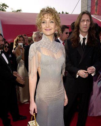 The infamous Oscar dress.