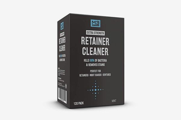 M3 Naturals Retainer and Denture Cleaner Tablets