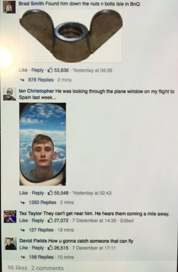 Cops Tried to Find a Fugitive on Facebook and It Turned Into a Roast