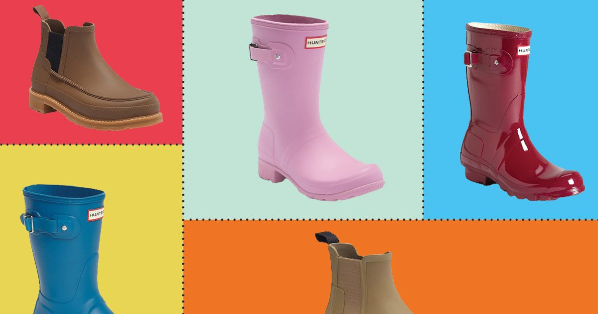 Hunter Short Boots and Chelsea Boots Sale 2018