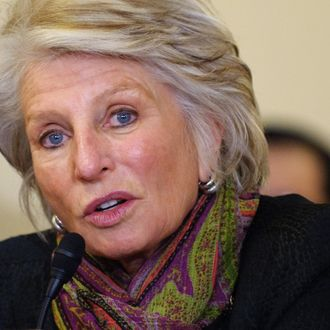 "Representative Jane Harman, D-CA, speaks at a House Committee on Homeland Security hearing on ""Understanding the Homeland Threat Landscape - Considerations for the 112th Congress."" February 9, 2011 in the Cannon House Office Building on Capitol Hill in Washington, DC. Harman is resigning her position as a member of the House of Representative to head the Woodrow Wilson International Center for Scholars."