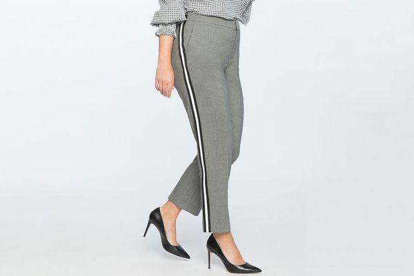Slim Leg Trouser With Side Stripe