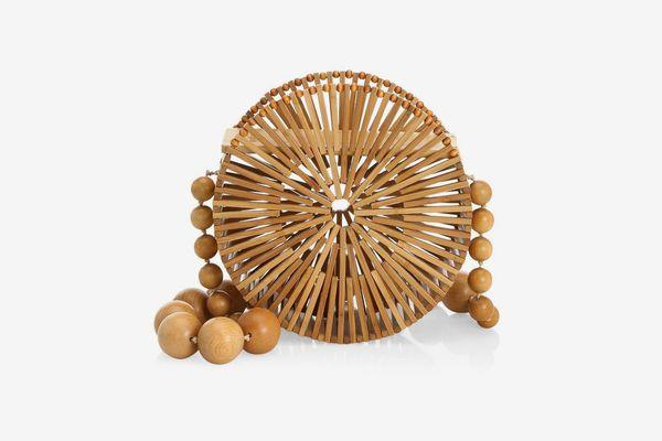 Cult Gaia Luna Bamboo Bag