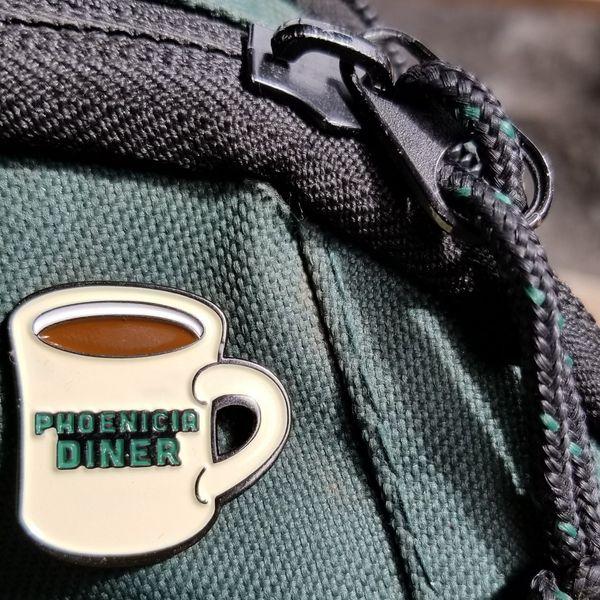 Phoenicia Diner-Mug Pin