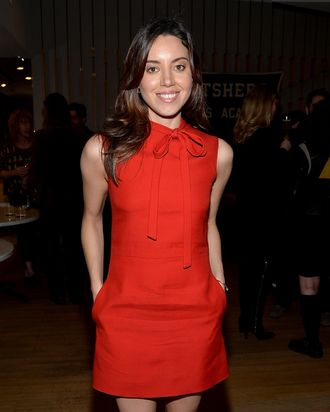Actress Aubrey Plaza attends the