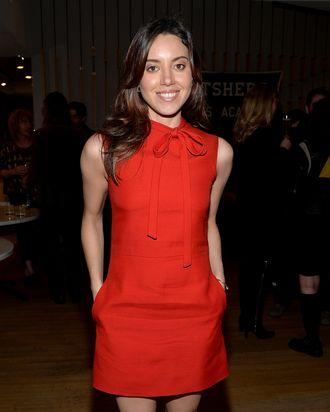 Actress Aubrey Plaza attends the