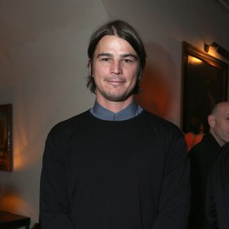 Actor Josh Hartnett attends GREY GOOSE Pre-Oscar Party hosted by Michael Sugar, Doug Wald, Nathan Kahane and Warren Zavala at Chateau Marmont on February 23, 2013 in Los Angeles, California.