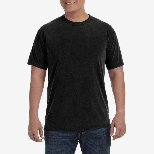 Comfort Colors 6.1 oz. Ringspun Garment-Dyed T-Shirt, Black
