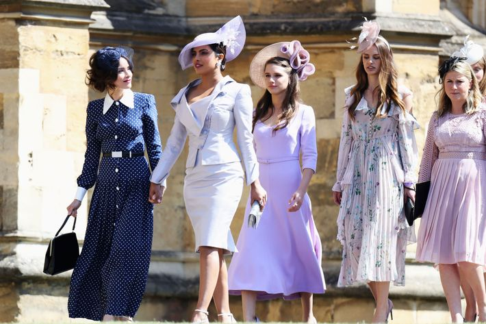Abigail Spencer, far left, and Priyanka Chopra, second from left.