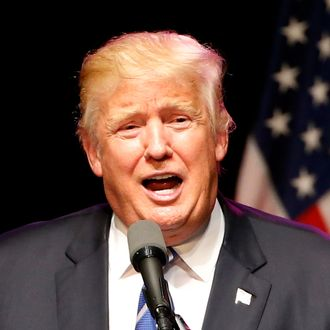 Donald Trump Holds Campaign Rally In Dallas