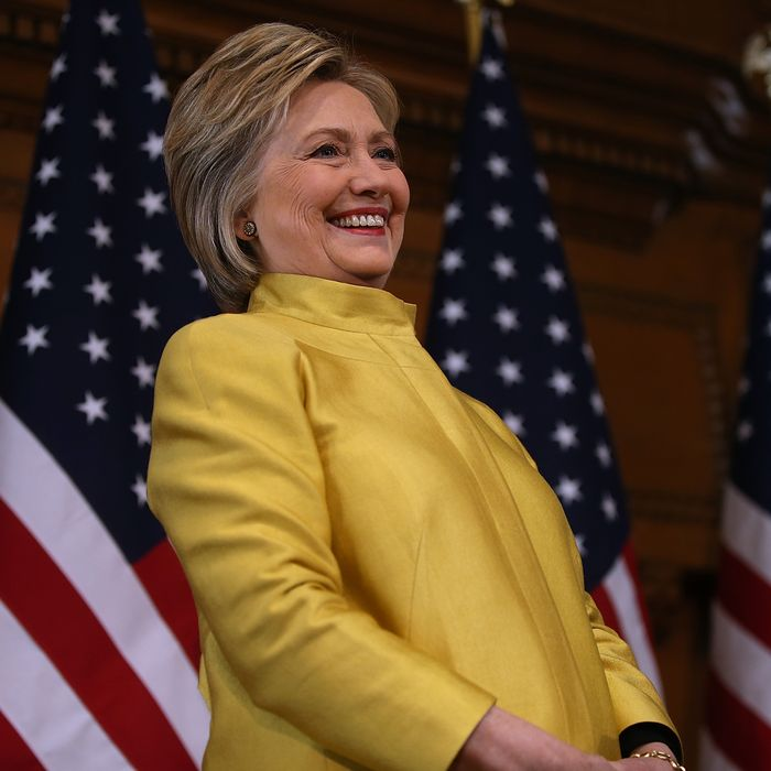 Hillary Clinton Delivers Counterterrorism Speech At Stanford University