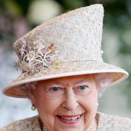 No garlic for Her Majesty.