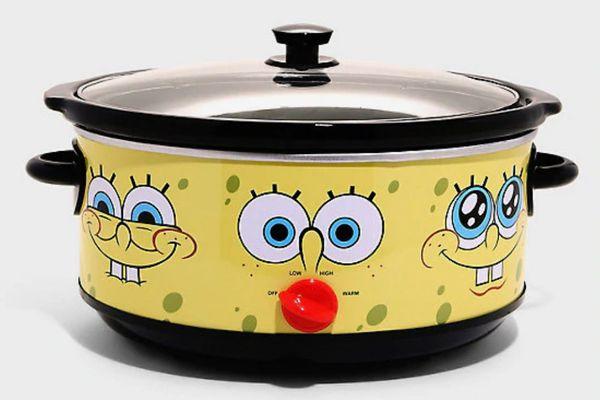 SpongeBob SquarePants x Hot Topic 7-Quart Slow Cooker