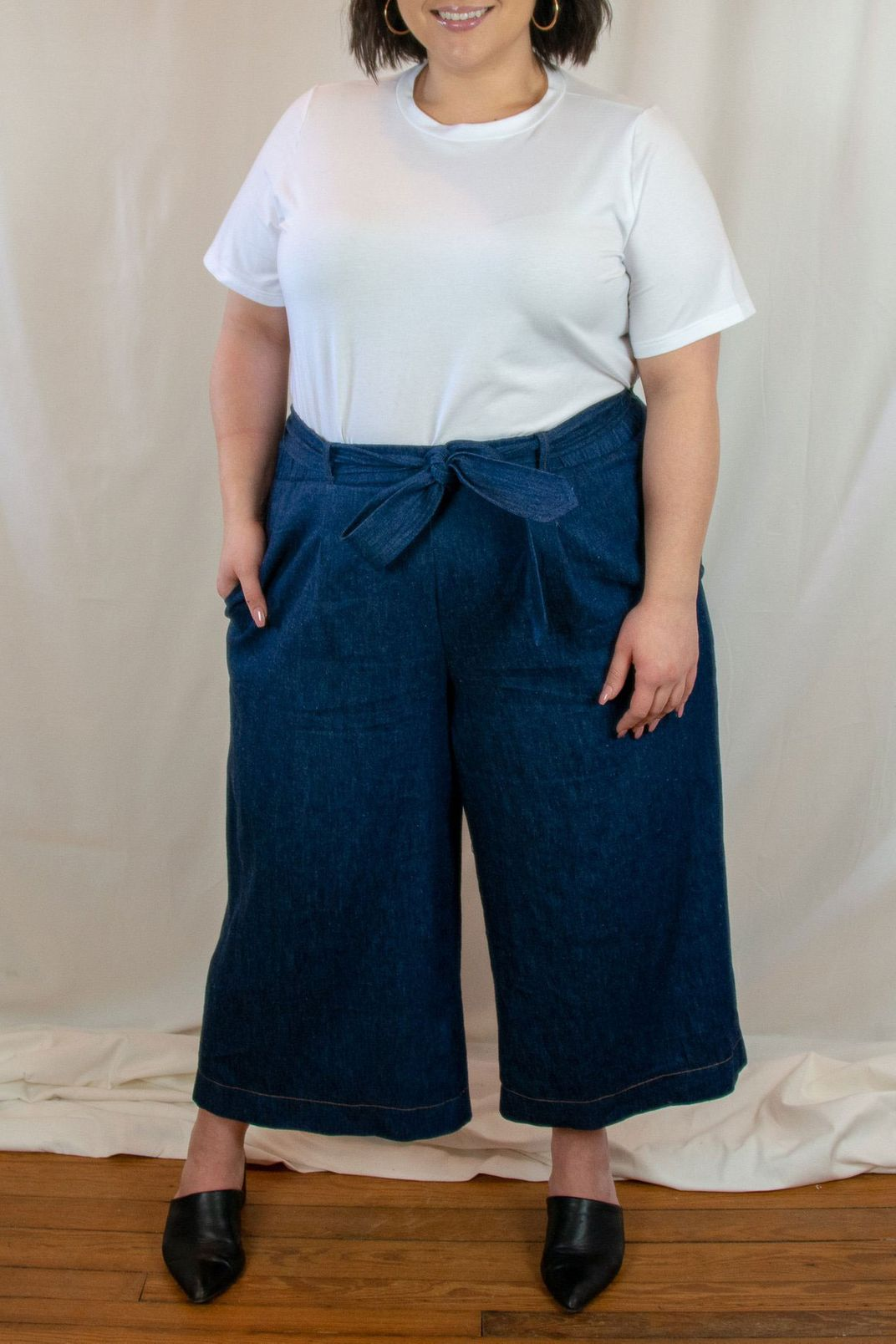 Alice Alexander Gloria Denim Culotte