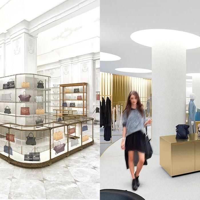 Bergdorf Goodman and Saks Downtown