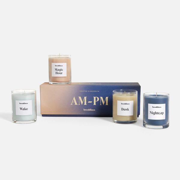 Brooklinen Scented Candle Set