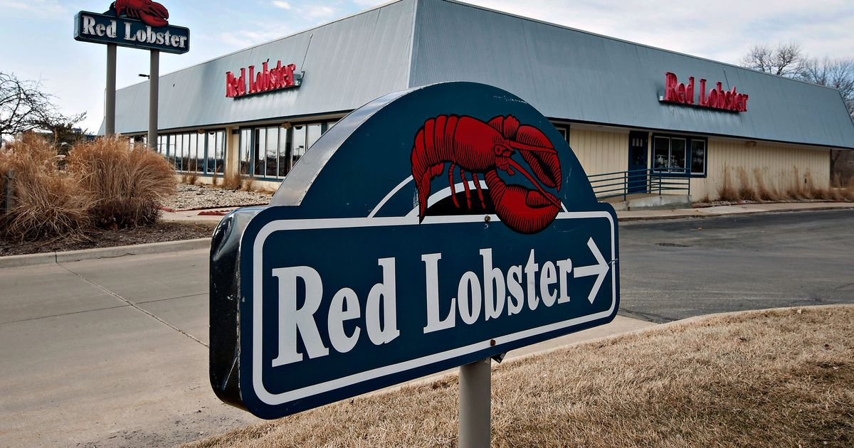 MY RED LOBSTER SIGN IN