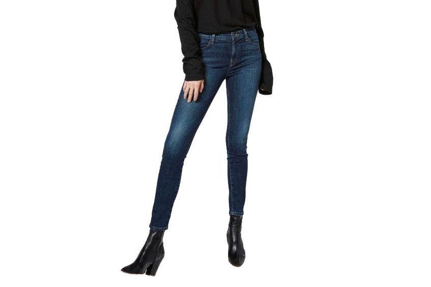 "J Brand High-Rise ""Maria"" Jeans"