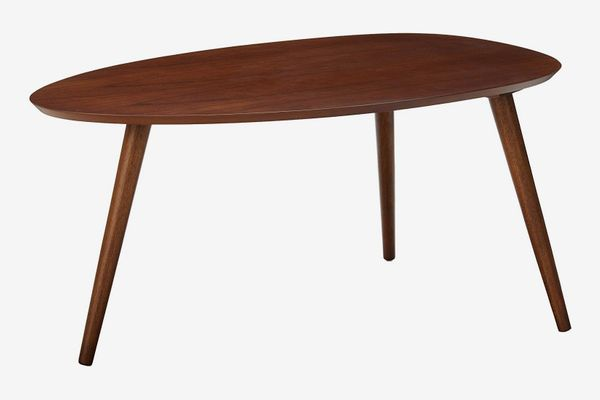 Christopher Knight Home Caspar Walnut Wood Coffee Table