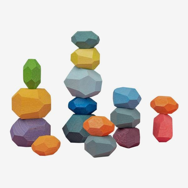 Atzi Hats Balancing Wooden Blocks