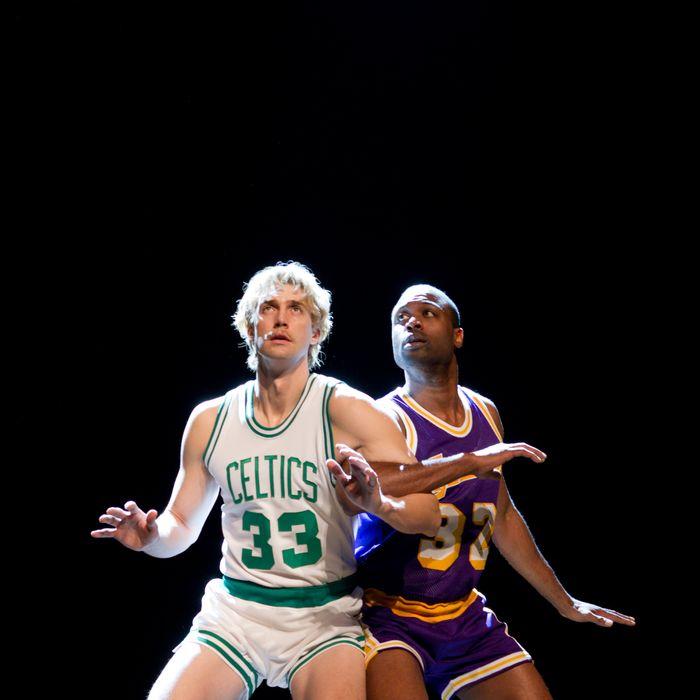 Tug Coker and Kevin Daniels in Magic/Bird.