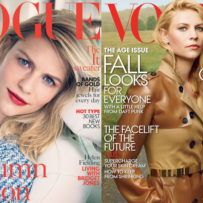 British Vogue vs. American Vogue.