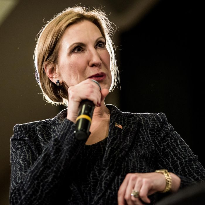 Carly Fiorina Campaigns In South Carolina