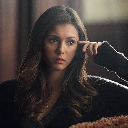 "The Vampire Diaries -- ""I Alone"" -- Image Number: VD609a_0262.jpg -- Pictured: Nina Dobrev as Elena -- Photo: Annette Brown/The CW -- ?'?? 2014 The CW Network, LLC. All rights reserved."