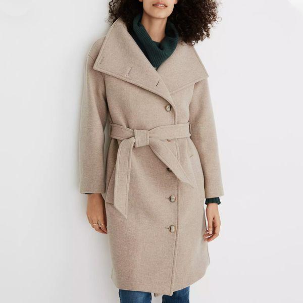Madewell Copenhagen Belted Coat