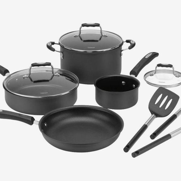 Cuisinart - 10-Piece Cookware Set