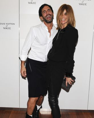 Marc and Carine.