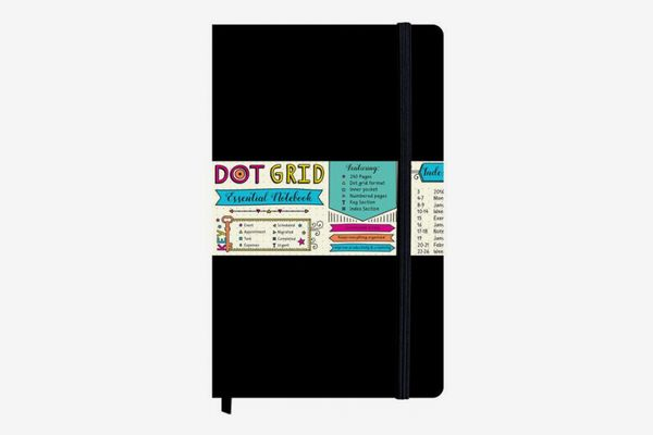 Piccadilly Dot Grid Essential Notebook