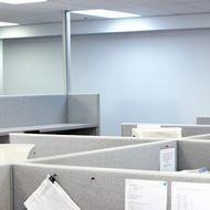 Cubicles in office --- Image by ? 2/Noel Hendrickson/Ocean/Corbis