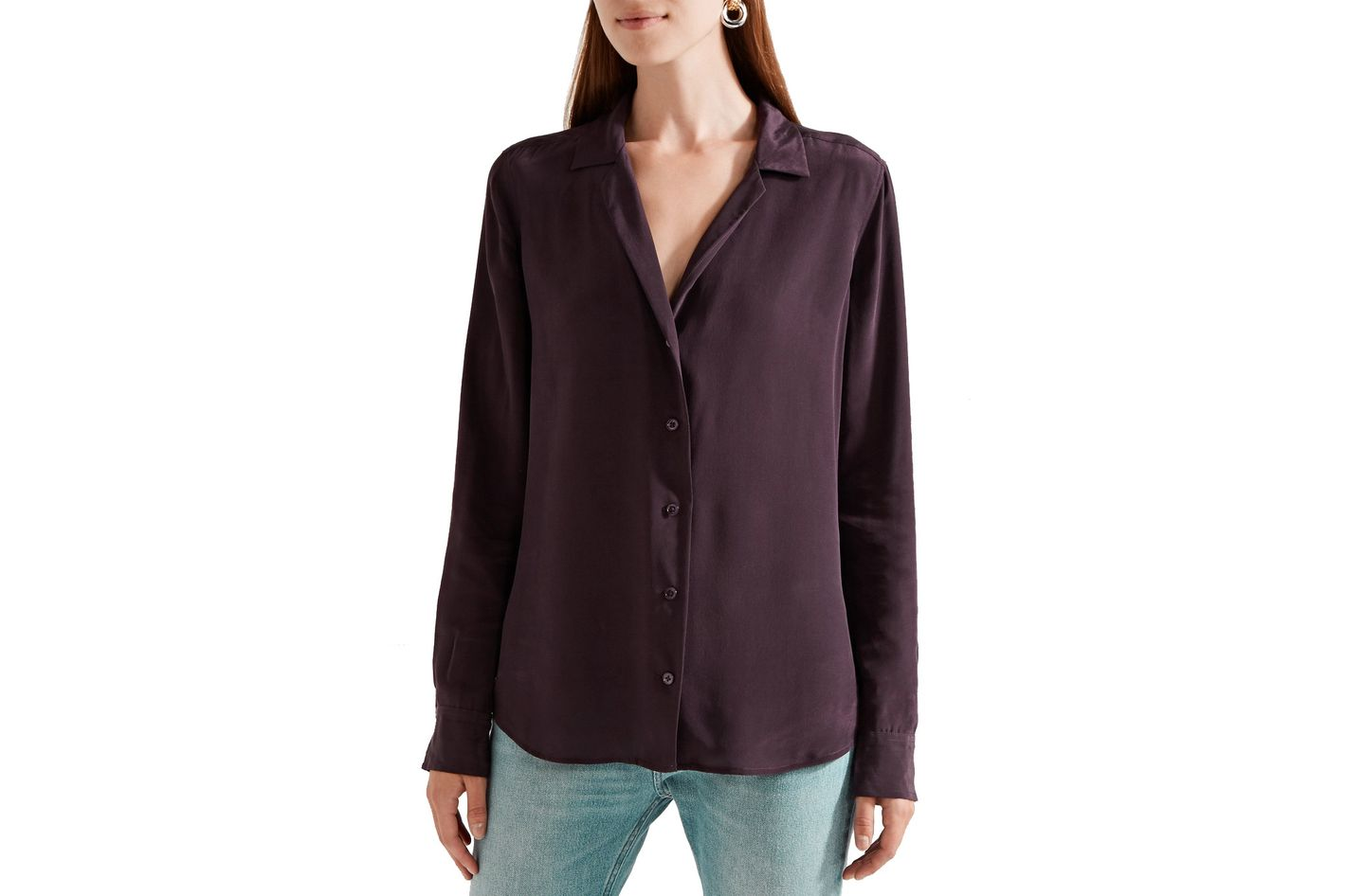 Equipment Adalyn Washed Silk Shirt