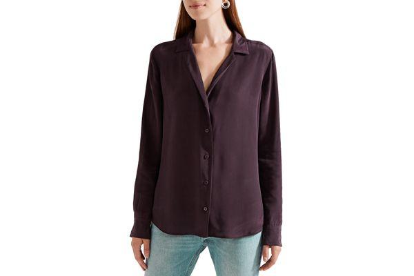 Equipment Adalyn Washed Silk Shirt