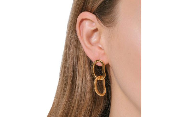 Lizzie Fortunato Link Earrings