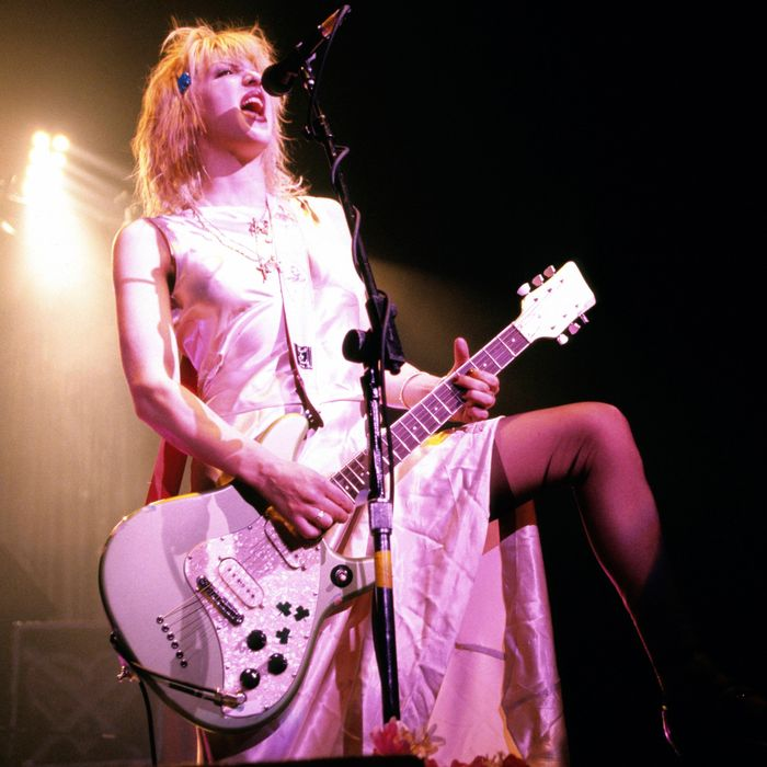 You probably won't look as cool as Courtney Love.