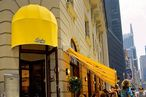 Yellow awnings will grace the meatpacking soon.