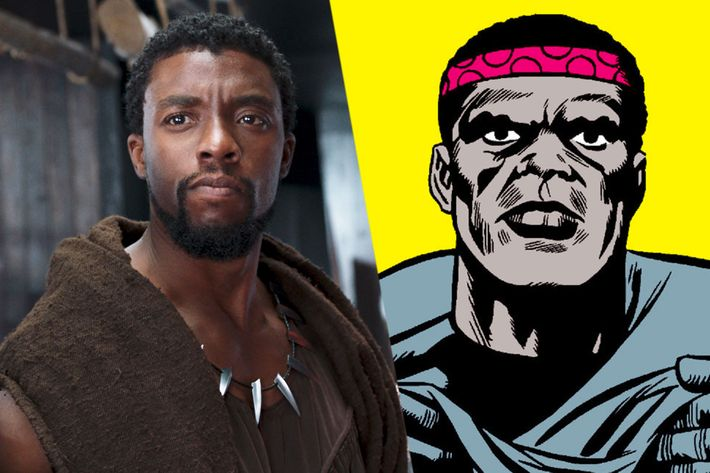 How Black Panther S Actors Compare To Comics Counterparts