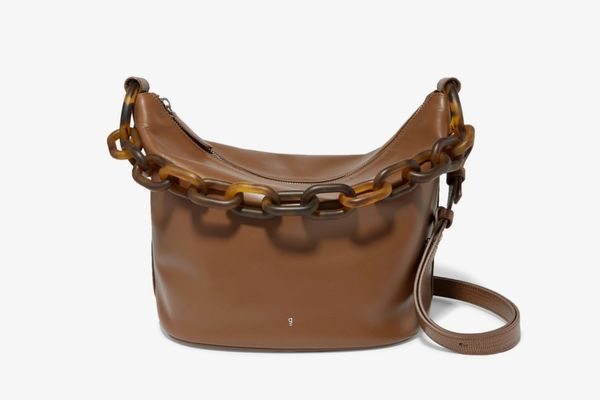 GU_DE Leather Shoulder Bag