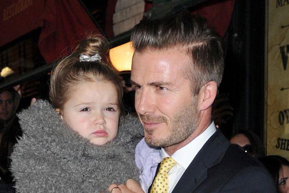 Harper and David Beckham.