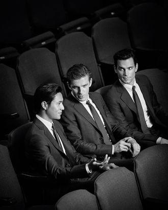 Chen Kun, Dan Steves, and Matt Bomer.