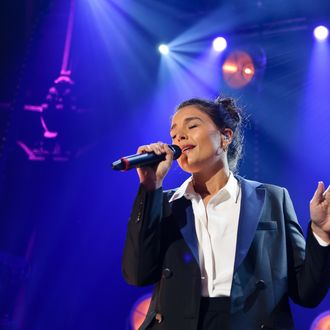 LONDON, UNITED KINGDOM - MAY 30: Jessie Ware performs
