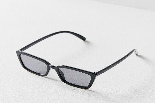 Gia Slim Rectangle Sunglasses