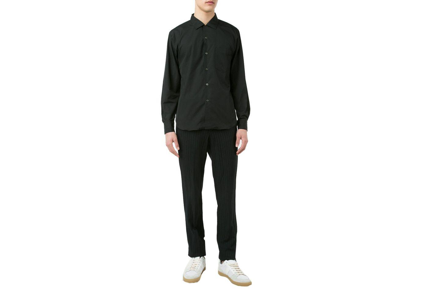 Comme des Garcons Homme Plus Club Collar Shirt