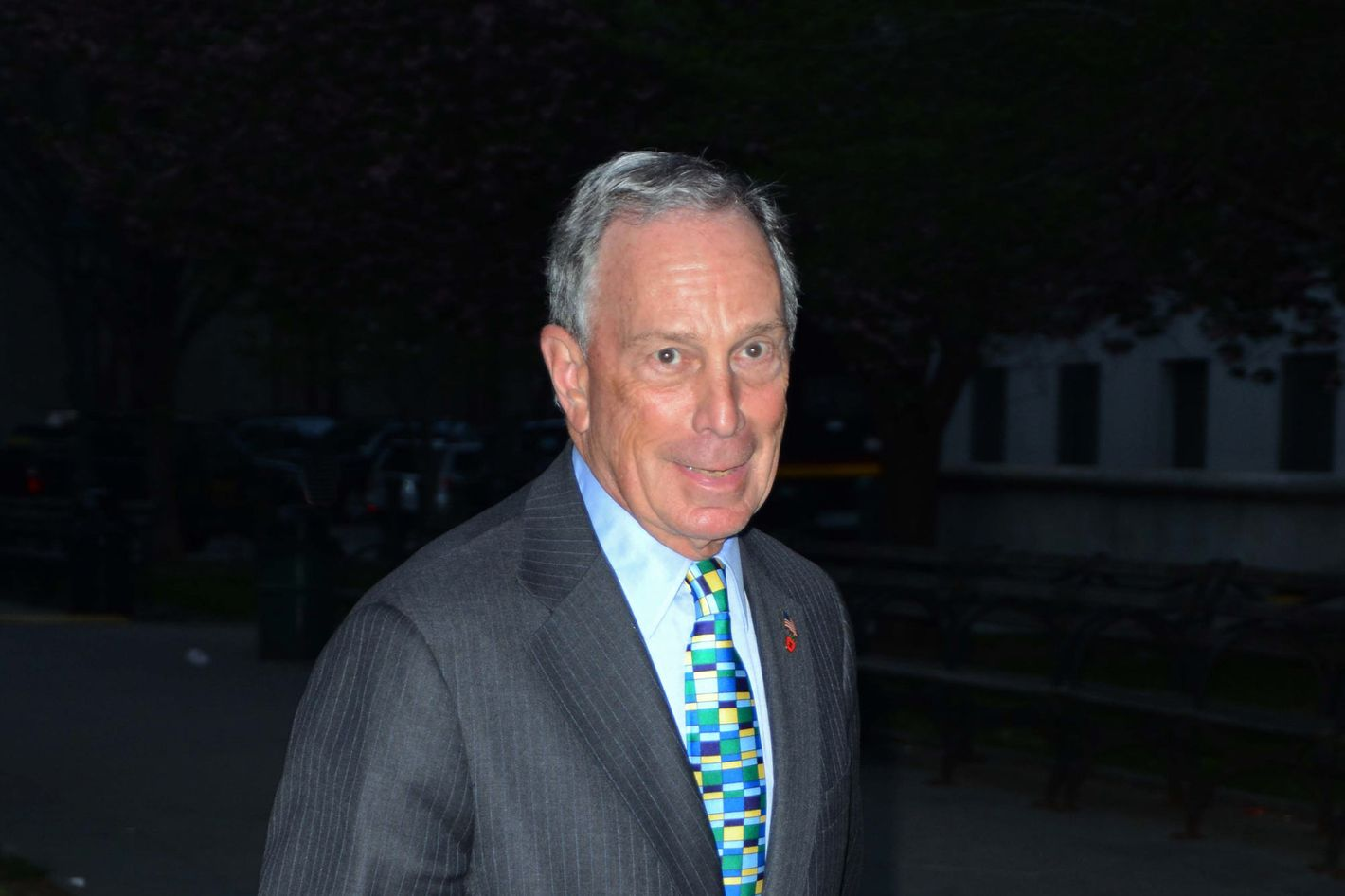 Bloomberg, in a photo taken pre-Sandy.