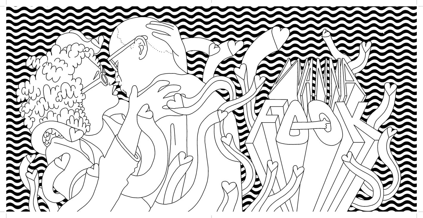 Photos The Broad City Coloring Book By Mike Perry