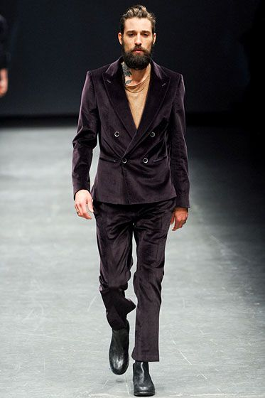"<a href=""http://nymag.com/fashion/fashionshows/2012/fall/main/europe/menrunway/diesel"">See the full collection: Diesel</a>"