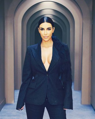 Kim Kardashian West.