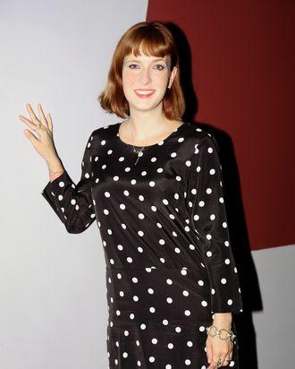 SANTA MONICA, CA - OCTOBER 12: Writer/Director Diablo Cody attends a Los Angeles special screening of her film